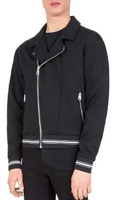 The Kooples Fleece Moto Jacket
