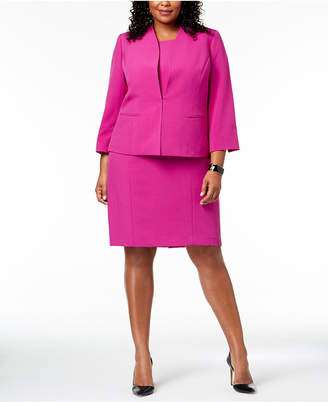 Le Suit Plus Size Sheath Dress & Jacket