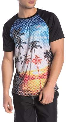 Trunks Surf and Swim CO. Placement Print Short Sleeve Swim Tee