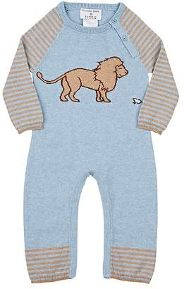 Lucky Jade Infants' Lion & Mouse Cotton-Cashmere Coverall