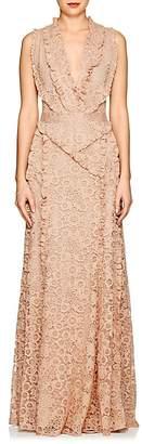 Altuzarra Women's Medina Floral-Lace Gown