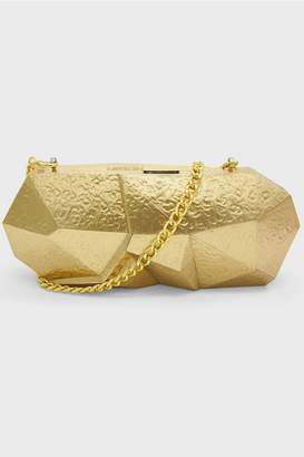 Rafe New York Gold Vivienne Minaudiere Clutch