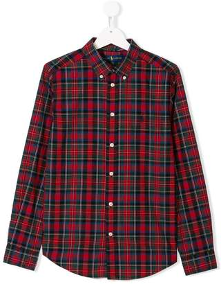 Ralph Lauren TEEN long-sleeve check shirt