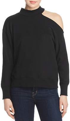 f7bd6065949 Elan International One-Shoulder Sweatshirt