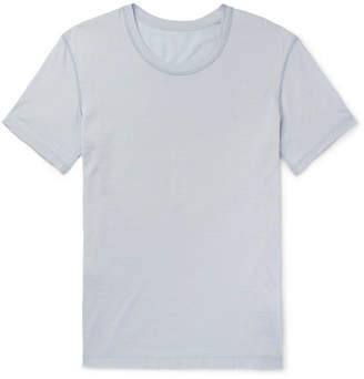 Secondskin Air Knit Silk-Jersey T-Shirt