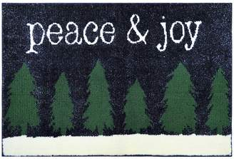 St Nicholas Square Supersoft Peace & Joy Holiday Rug - 24'' x 36''