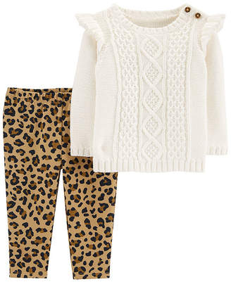 Carter's Long Sleeve Pant - Sweater Set Baby - Girls