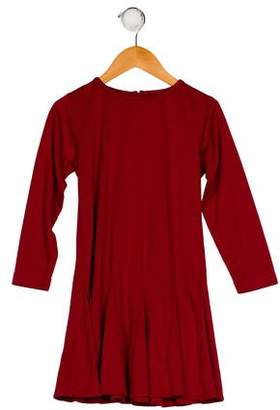 Florence Eiseman Girls' Long Sleeve A-Line Dress