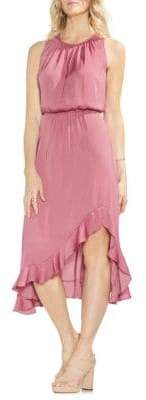 Vince Camuto Sapphire Bloom Blouson Dress