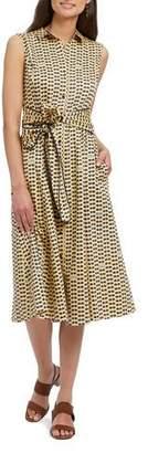 Nic+Zoe Petite Sunnies Sleeveless Shirtdress
