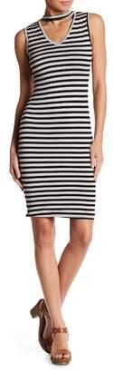 Blvd Striped Bodycon Dress