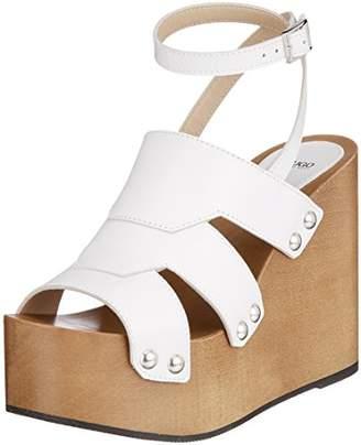 94a19bfaf1cb HUGO Women s Uptown Wedge-s Ankle Strap Sandals