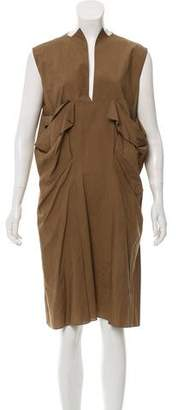 Marni Draped Knee-Length Dress