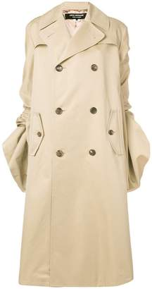 Junya Watanabe gathered sleeved trench coat