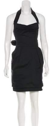 Dolce & Gabbana Mini Halter Dress