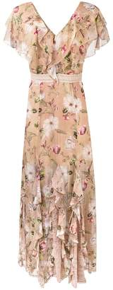 Alice + Olivia Alice+Olivia floral print gown