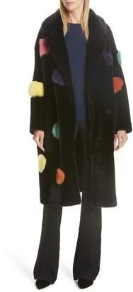 ANNE VEST Acacia Genuine Shearling Coat