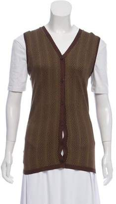 Prada Silk Knit Vest