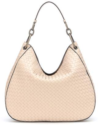 Bottega Veneta Loop intrecciato leather shoulder bag