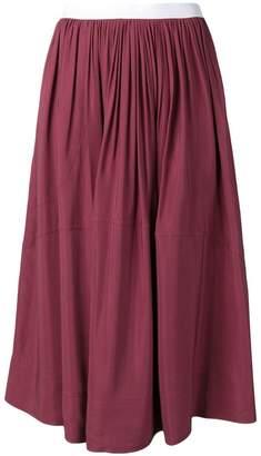 Golden Goose flared midi skirt
