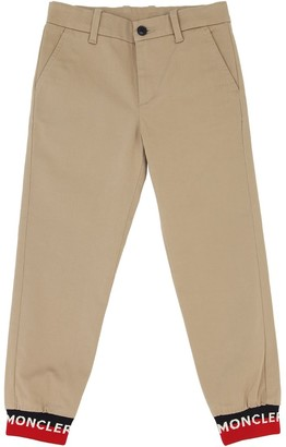 Moncler Stretch Cotton Gabardine Chino Pants