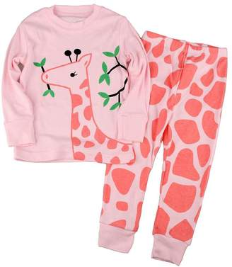 at amazon canada a mammybaby little girls pajamas set cotton sleepwear
