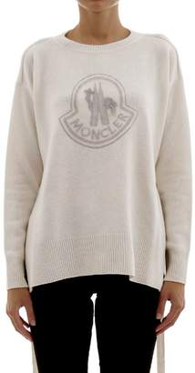 Moncler Sweater With Belt And Logo