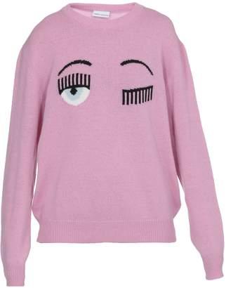 Chiara Ferragni Flirting Over Sweater