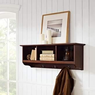 Crosley Generic Furniture Brennan Entryway Storage Shelf, Multiple Colors