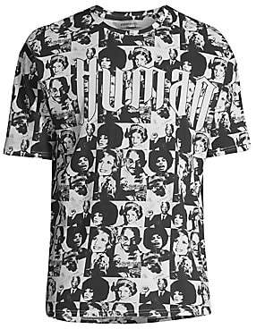 Eleven Paris Men's Faces Graphic T-Shirt