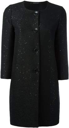 Tagliatore sequin embellished coat
