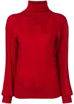 Joseph turtleneck ribbed sweater