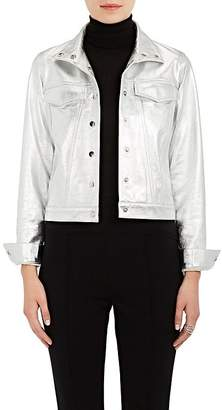 Lisa Perry Women's Snazzy Metallic Leather Jacket