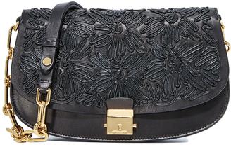 Michael Kors Collection Mia Small Shoulder Bag $1,650 thestylecure.com