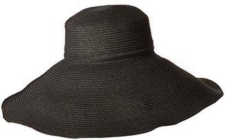 Gottex Women's Belladonna Wide Brim Packable Sun Hat Rated $90 thestylecure.com