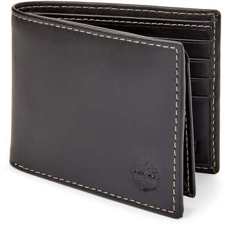 Timberland Black Smooth Leather Hunter Passcase