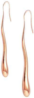 MARIE JUNE Jewelry - Droplet Immense Rose Gold Earrings