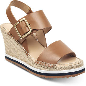 Tommy Hilfiger Yazzi Wedge Sandals Women Shoes
