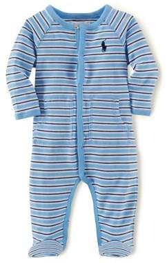Ralph Lauren Baby Boys' Striped Coverall
