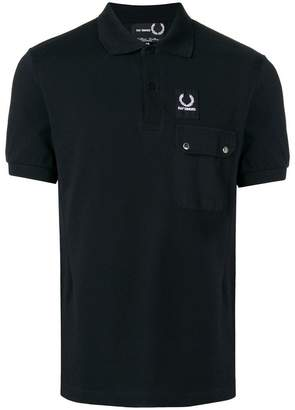 Fred Perry logo patch polo shirt