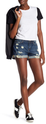 Articles of Society Jimmy Distressed Denim Short $54 thestylecure.com