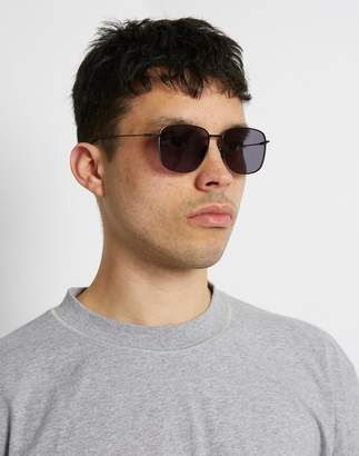 The Idle Man - Square Aviator Matt Black