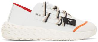 Giuseppe Zanotti White Urchin Sneakers