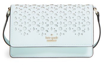 Kate SpadeKate Spade New York Cameron Street - Arielle Perforated Leather Crossbody Bag - White