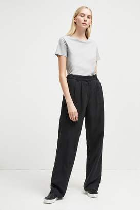 French Connenction Caspia Linen Pleated Trousers