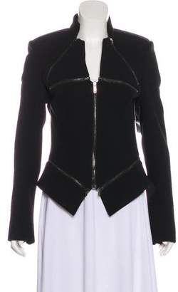 Gareth Pugh Long Sleeve Zip-Up Jacket w/ Tags