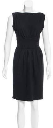 Prada Knit Knee-Length Dress