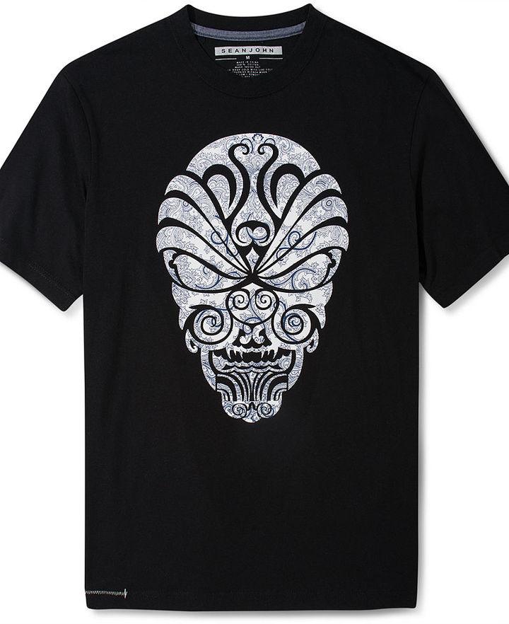 Sean John T-Shirt Big and Tall, Tribal Twist T-Shirt