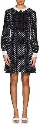 Lisa Perry Women's Dot-Print Crepe Shift Dress
