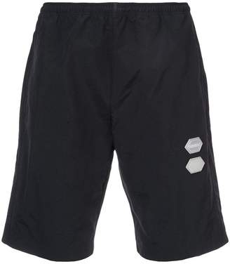 Off-White elasticated waist shorts